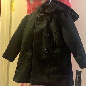 New with tags Black Girl Warm Coat